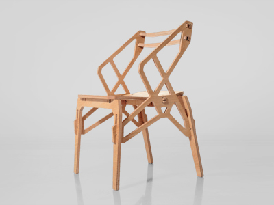 Frame Arm Chair