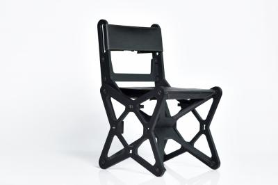 'Electron' premium chair | black | leather cover image